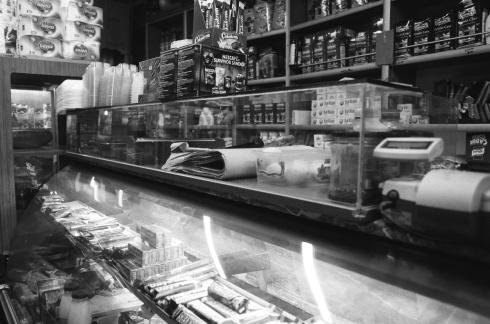 A corner store in Galata