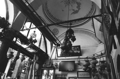 Lamps in a nargile/tea cafe