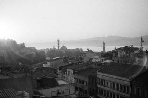 Sunrise on the Bosphorus