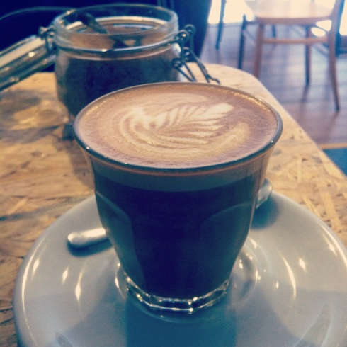 The My Little Melbourne flat white