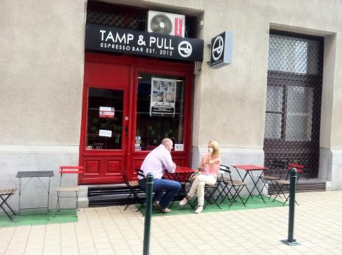 Tamp & Pull exterior