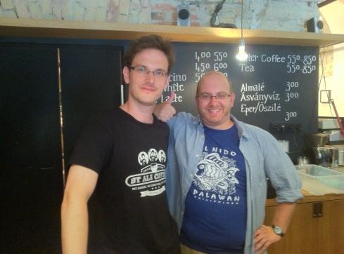 Me and world champ Tibor
