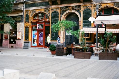 Building on Nagymező utca