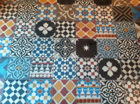 Awesome mosaic tile floors