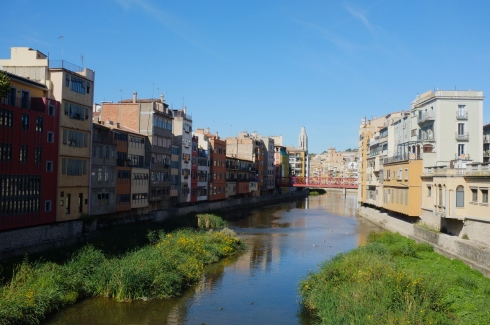 A last look at Girona facing the other way.