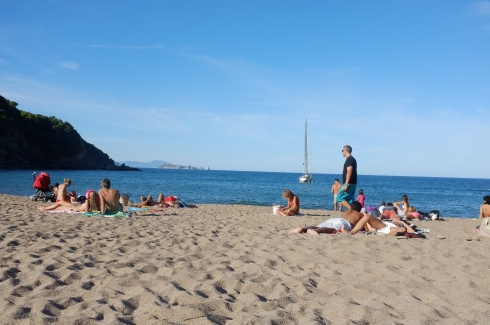 I don't remember what this beach was called but it was near Begur.