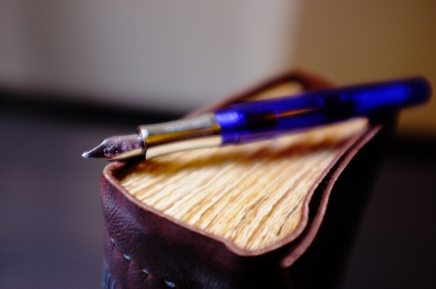 """The Kaweco """"Student"""" again, and the Nomad journal"""